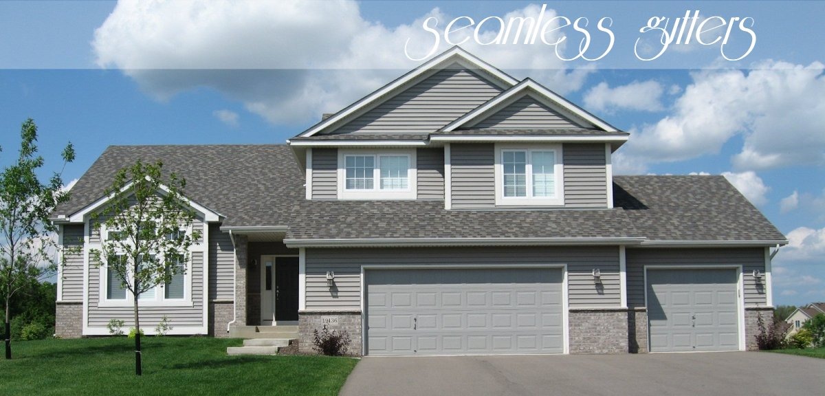 Seamless Gutters Lakeville Farmington Apple Valley Minnesota